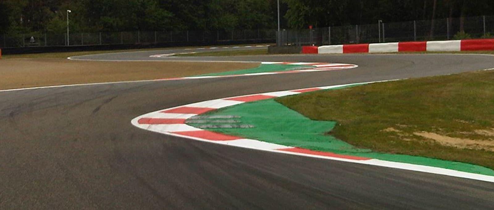 Foto van het circuit